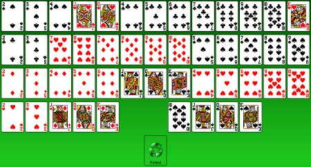 how to win gaps solitaire