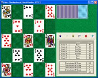 Poker Checkerboard Solitaire