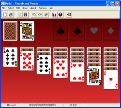 Thumb and Pouch Solitaire