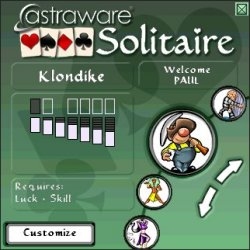 Astraware Solitaire for Palm OS