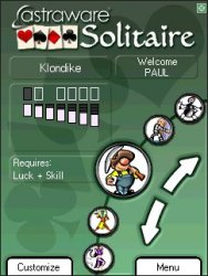 Astraware Solitaire for Pocket PC