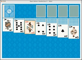 Classic Solitaire for Mac OSX