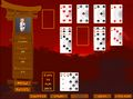 Ronin Solitaire Screen Shot #1