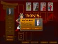Ronin Solitaire Screen Shot #2
