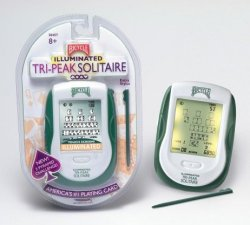 Bicycle Illuminated Touch Screen Tri-Peak Solitaire