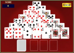 pyramid solitaire addiction