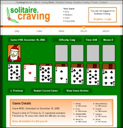Solitaire Craving