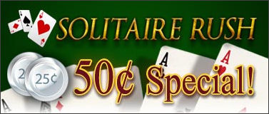 50� Tournaments in Solitaire Rush!