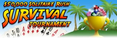 $50,000 Solitaire Rush Survival Tournament